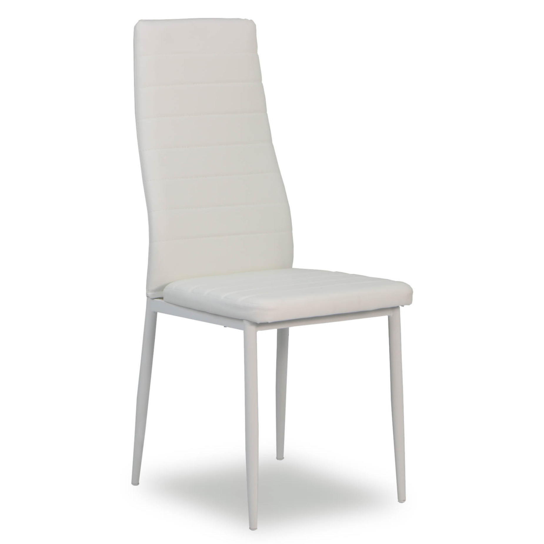 Quinn Dining Chair White | Furniture & Home Décor | Fortytwo pertaining to Quinn Teak Sofa Chairs