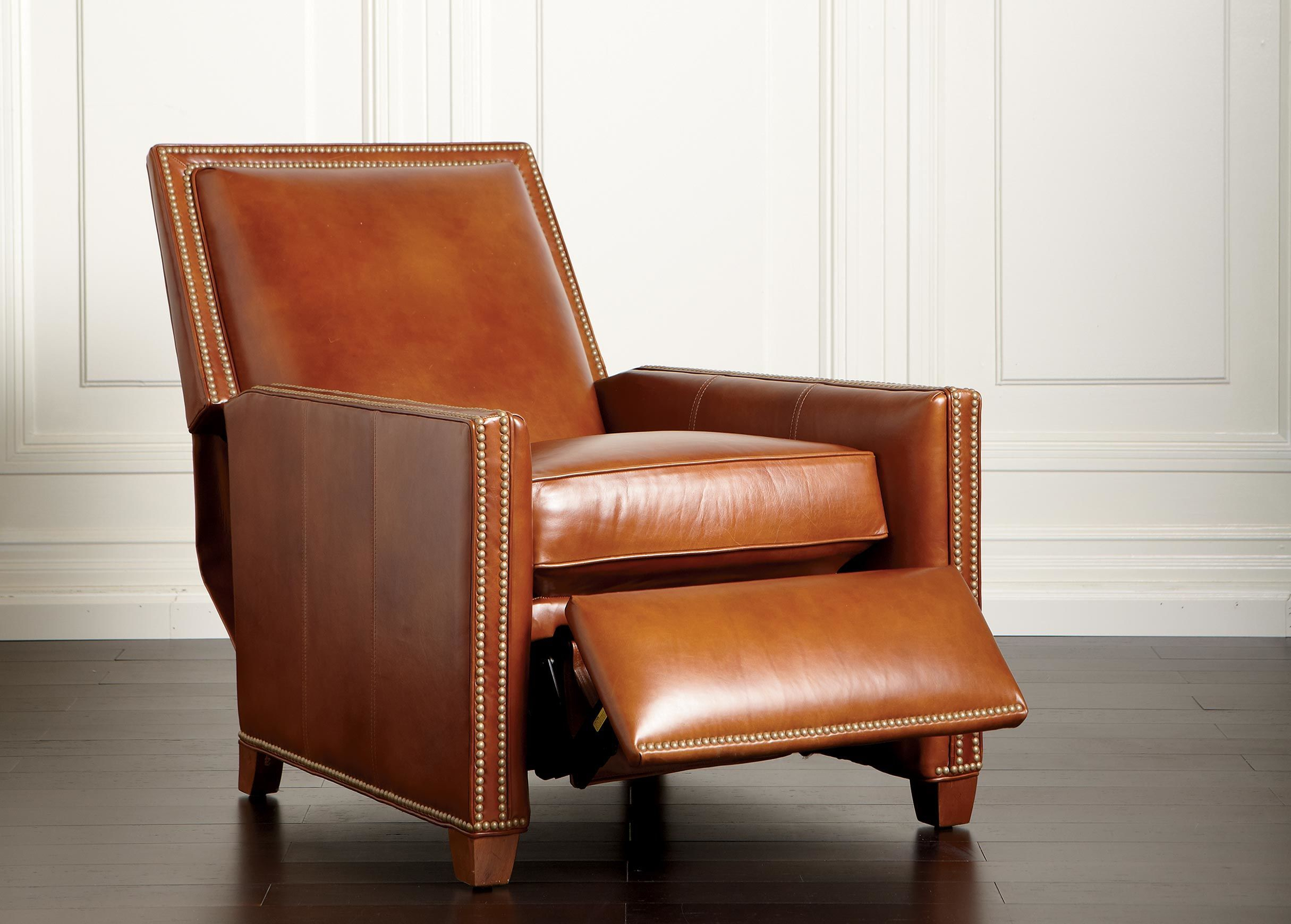 Randall Leather Recliner – Ethan Allen Www (View 14 of 25)