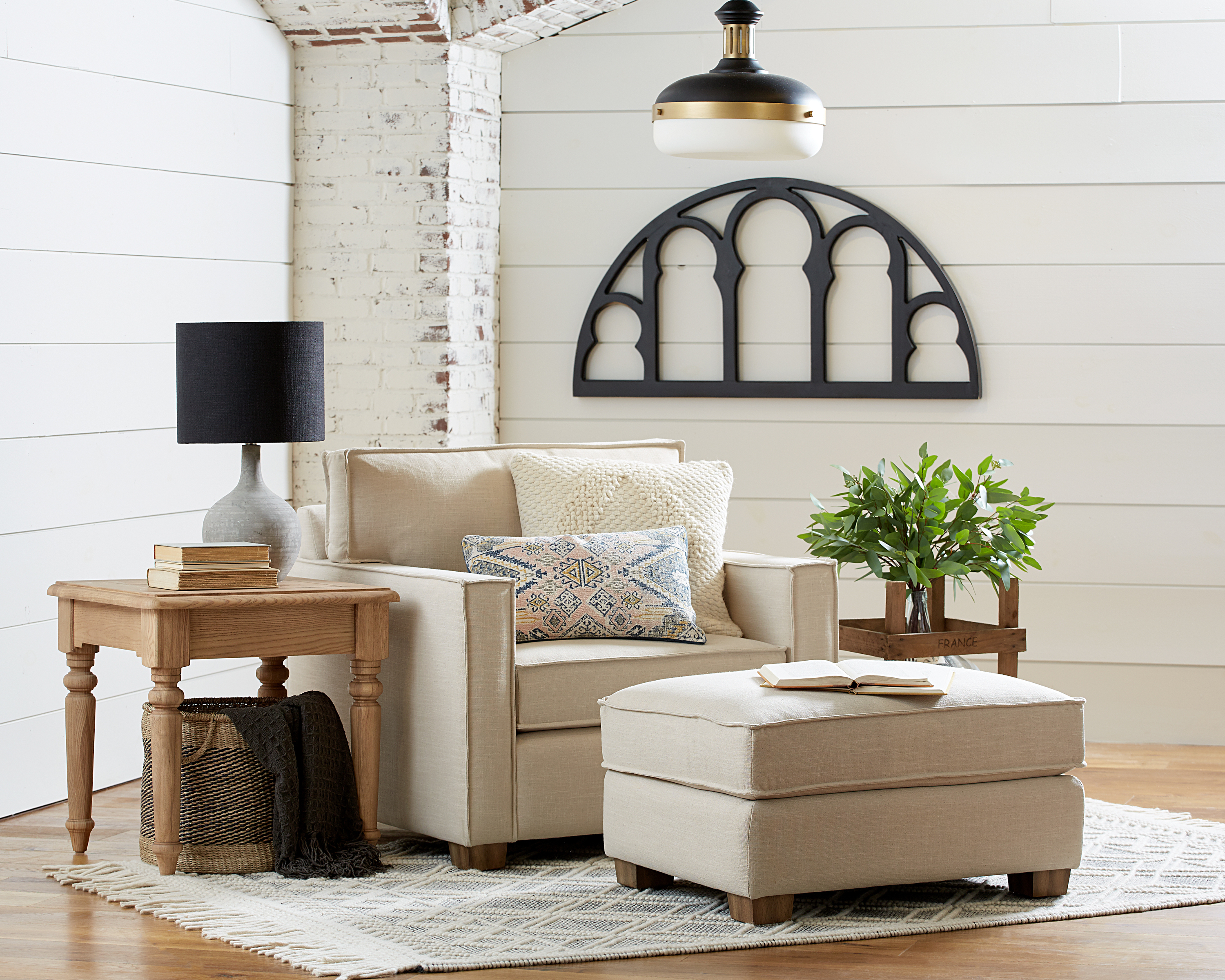 Featured Image of Magnolia Home Ravel Linen Sofa Chairs