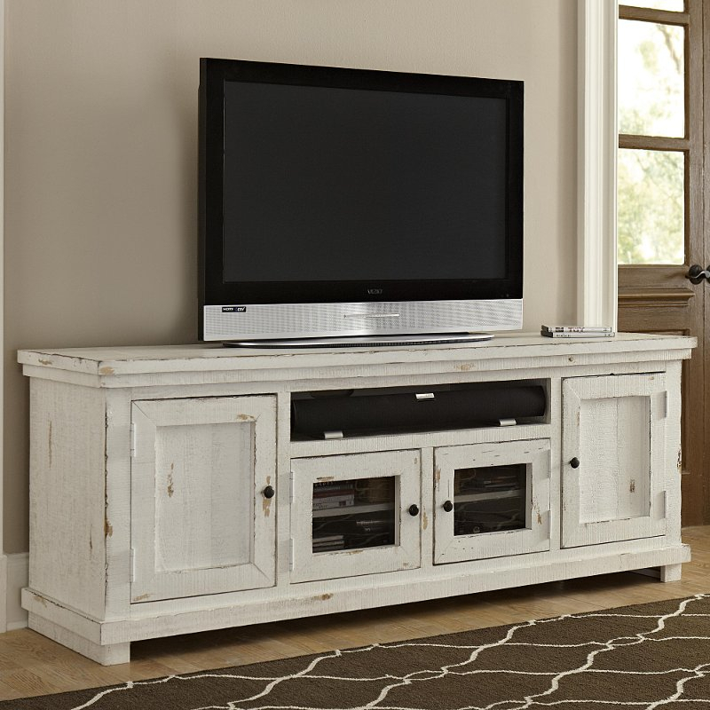 Rc Willey Furniture Store Regarding Most Up To Date Cheap White Tv Stands (View 6 of 25)