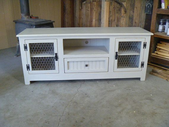 "Ready To Ship Cottage Tv Stand 60 "", Sideboard, Beach, Shabby Chic With Well Known Maddy 60 Inch Tv Stands (View 21 of 25)"