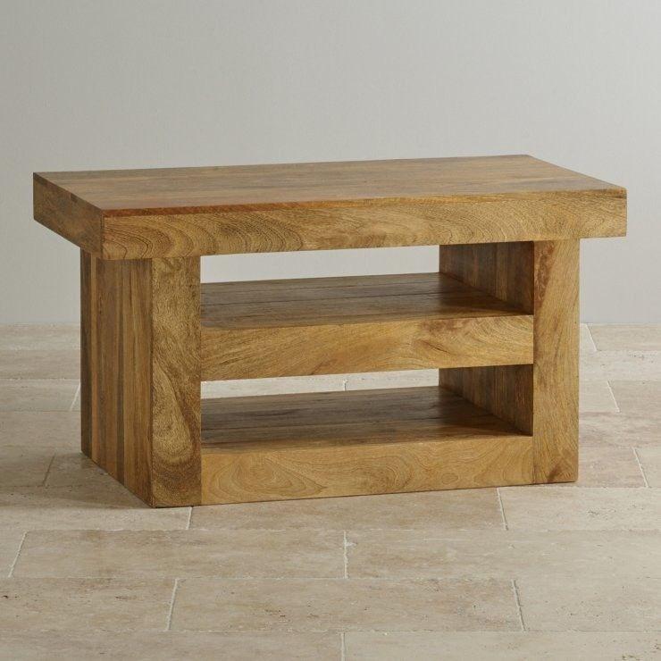 Real Mango Oak Tv Stand (Oak Furniture Land) (Image 21 of 25)