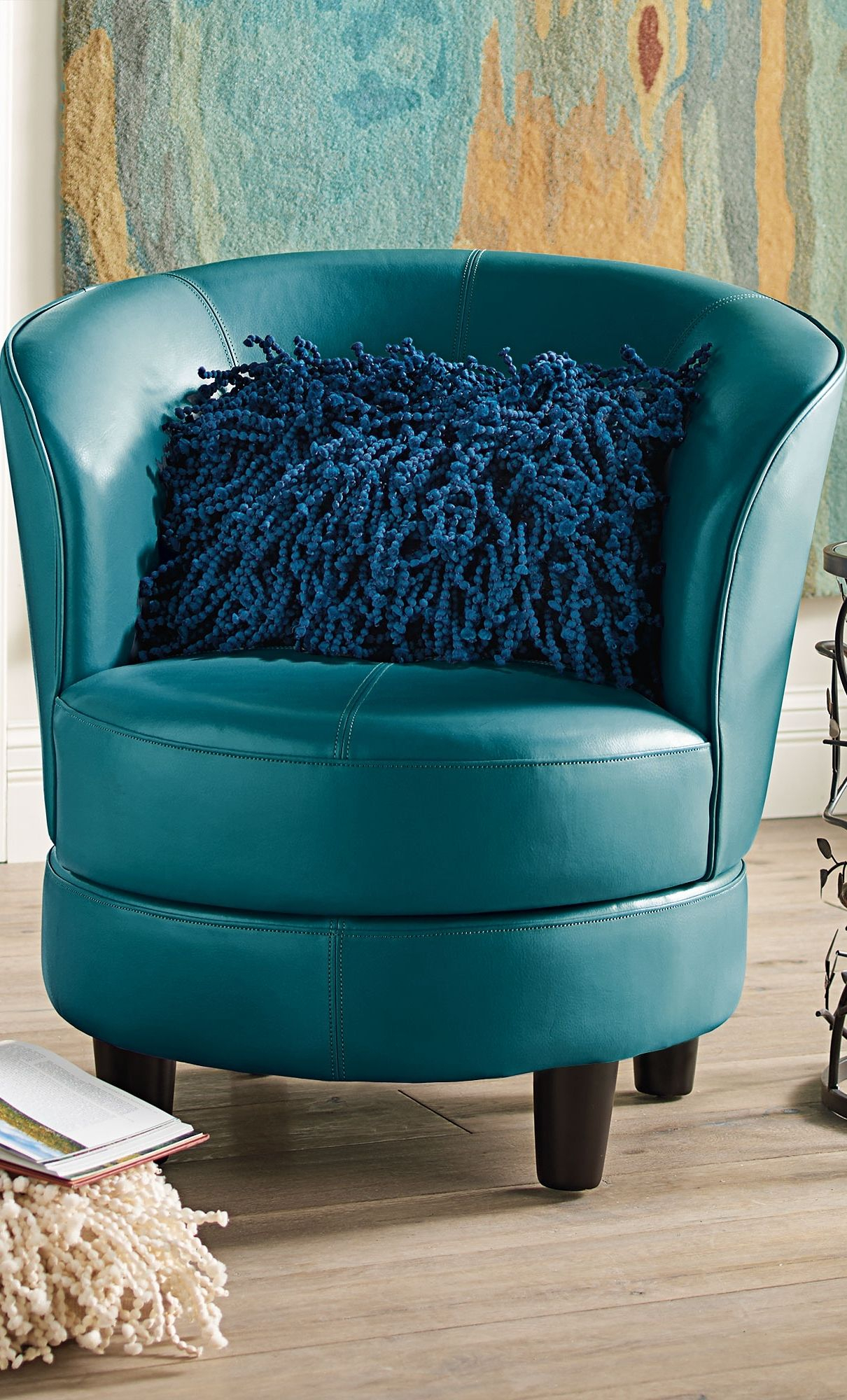 Rebecca Swivel Chair | Chairs With Character | Pinterest Inside Grandin Leather Sofa Chairs (Image 21 of 25)