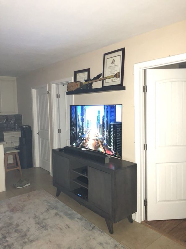 Recent Abbott Driftwood 60 Inch Tv Stands Intended For Abbott Driftwood 60 Inch Tv Console Only!! Not Tv! For Sale In Los (View 20 of 25)