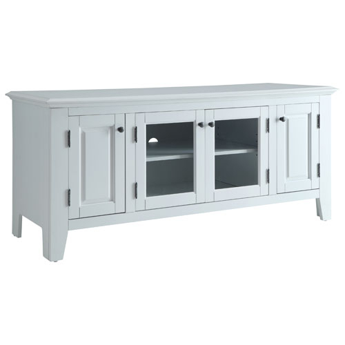 """Recent Cheap White Tv Stands With Regard To Marcus Tv Stand For Tvs Up To 55"""" (Mc70055) – White : Tv Stands (Image 18 of 25)"""