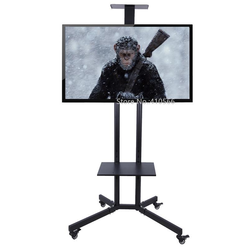Recent Ducar 64 Inch Tv Stands Pertaining To Satın Al Taşınabilir Düz Ekran Tv Standı Hareketli Plazma Televizyon (Image 17 of 25)