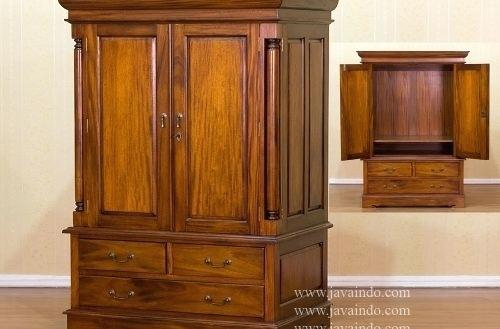 Recent Enclosed Tv Cabinets With Doors Pertaining To Enclosed Tv Cabinet Cabinet With Doors That Enclose Gallery Doors (Image 21 of 25)