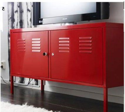 Recent Lockable Tv Stands Inside Ikea Red Cabinet Tv Stand Multi Use Lockable (View 8 of 25)