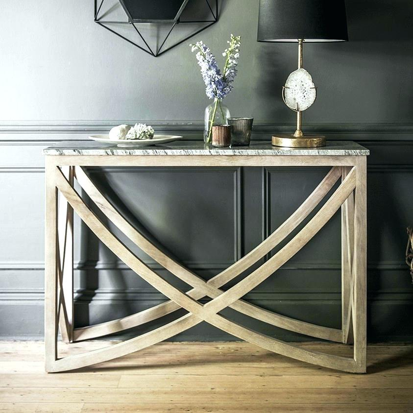 Recent Parsons Black Marble Top & Dark Steel Base 48X16 Console Tables Regarding Marble Top Console Fumtc Miloconsoletable341 Hw Homemilo Marble Top (Photo 5 of 25)