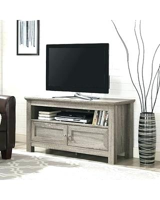 Recent Sinclair Grey 54 Inch Tv Stands in Awesome Gray Stand Plan Console Wood Excellent Popular With Regard