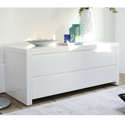 [%Recent Tv Bench White Gloss Inside Tv Storage Units And Tables | 0% Interest Free Credit | Dwell|Tv Storage Units And Tables | 0% Interest Free Credit | Dwell Throughout 2018 Tv Bench White Gloss%] (View 10 of 25)