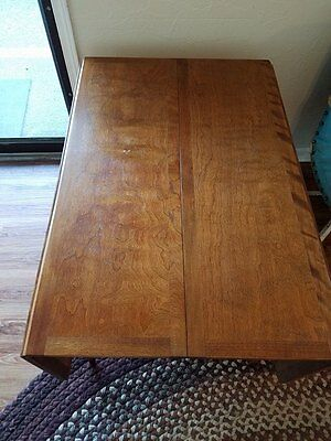 Recent Wakefield 85 Inch Tv Stands In Haywood Wakefield Mid Century Drop Leaf Dining Table – $ (View 20 of 25)