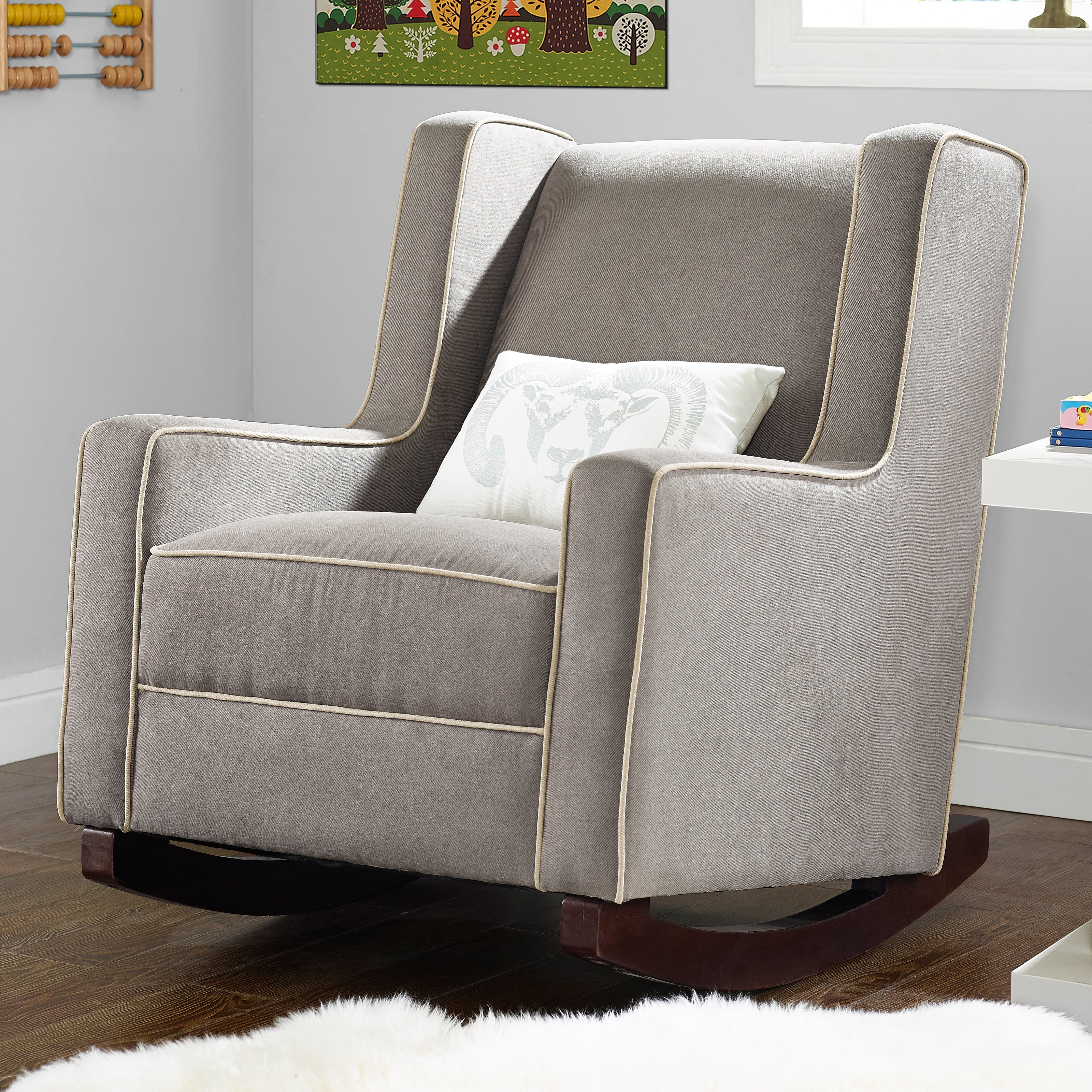 Recliner : Baby Relax Abby Rocker Luxury Glider And Recliner For Pertaining To Abbey Swivel Glider Recliners (View 4 of 25)