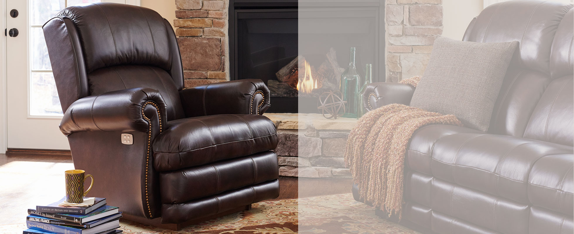 Recliner Chairs & Rocker Recliners | La Z Boy Intended For Gibson Swivel Cuddler Chairs (View 23 of 25)