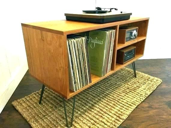 Record Player Media Console Draper Media Console Record Console Throughout Favorite Bjs Tv Stands (Image 22 of 25)