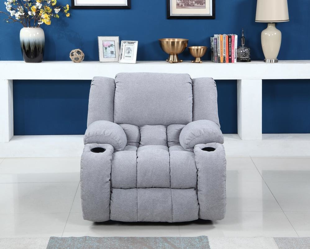 Red Barrel Studio Haigler Manual Glider Recliner | Wayfair Regarding Dale Iii Polyurethane Swivel Glider Recliners (View 15 of 25)