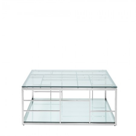 Remi Stainless Steel Square Coffee Table With Well Liked Remi Console Tables (Image 16 of 25)