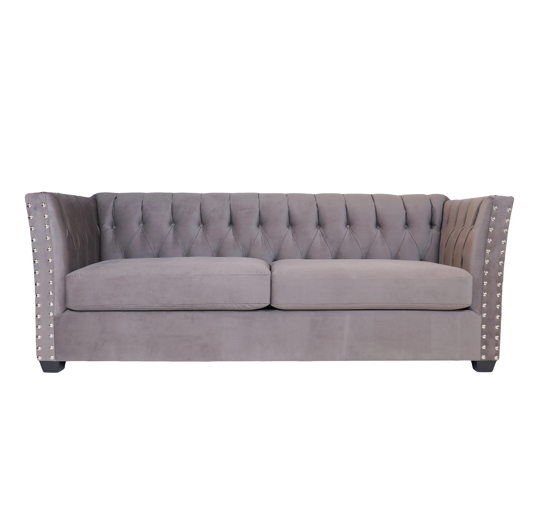 Rezfurniture Mitchell Chesterfield Sofa | Wayfair Regarding Mitchell Arm Sofa Chairs (Image 24 of 25)