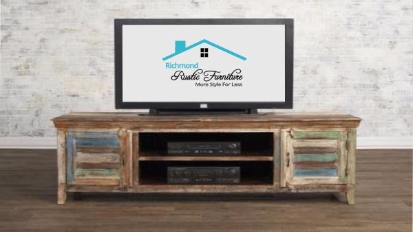Richmond Rustic Furniture Regarding Favorite Rustic Furniture Tv Stands (View 20 of 25)