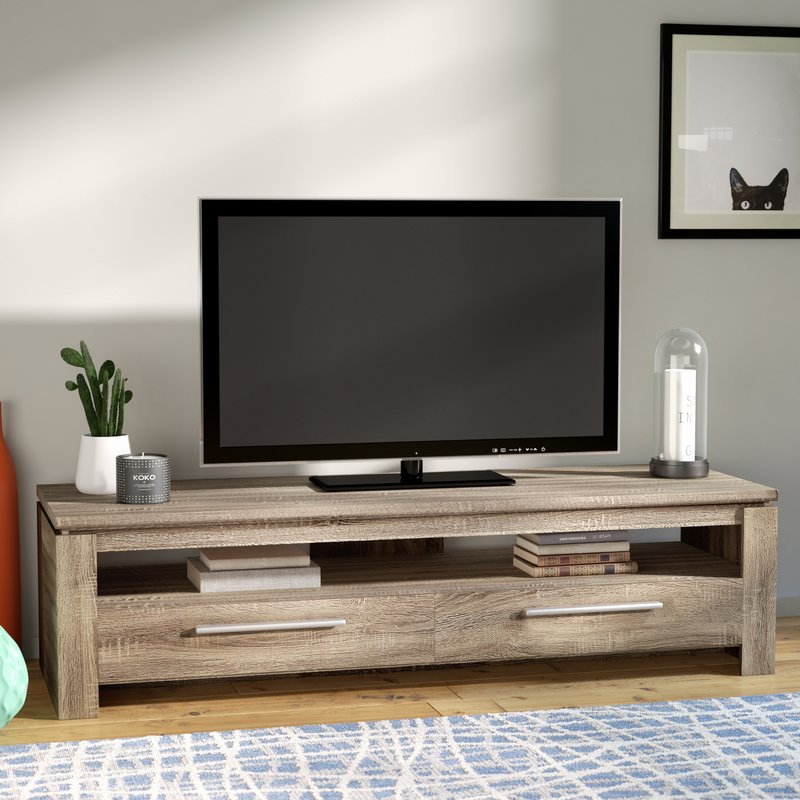 """Rorie Tv Stand For Tvs Up To 49"""" With Popular Lauderdale 62 Inch Tv Stands (Image 14 of 25)"""