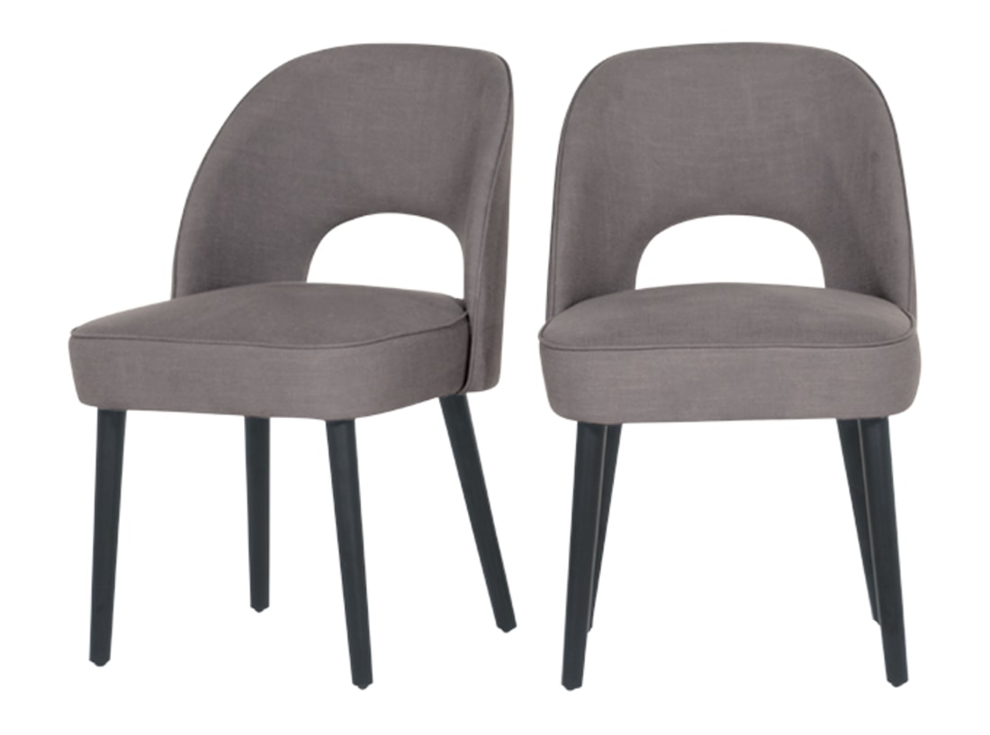 Rory Dining Chair, Graphite Grey | Made with Rory Sofa Chairs