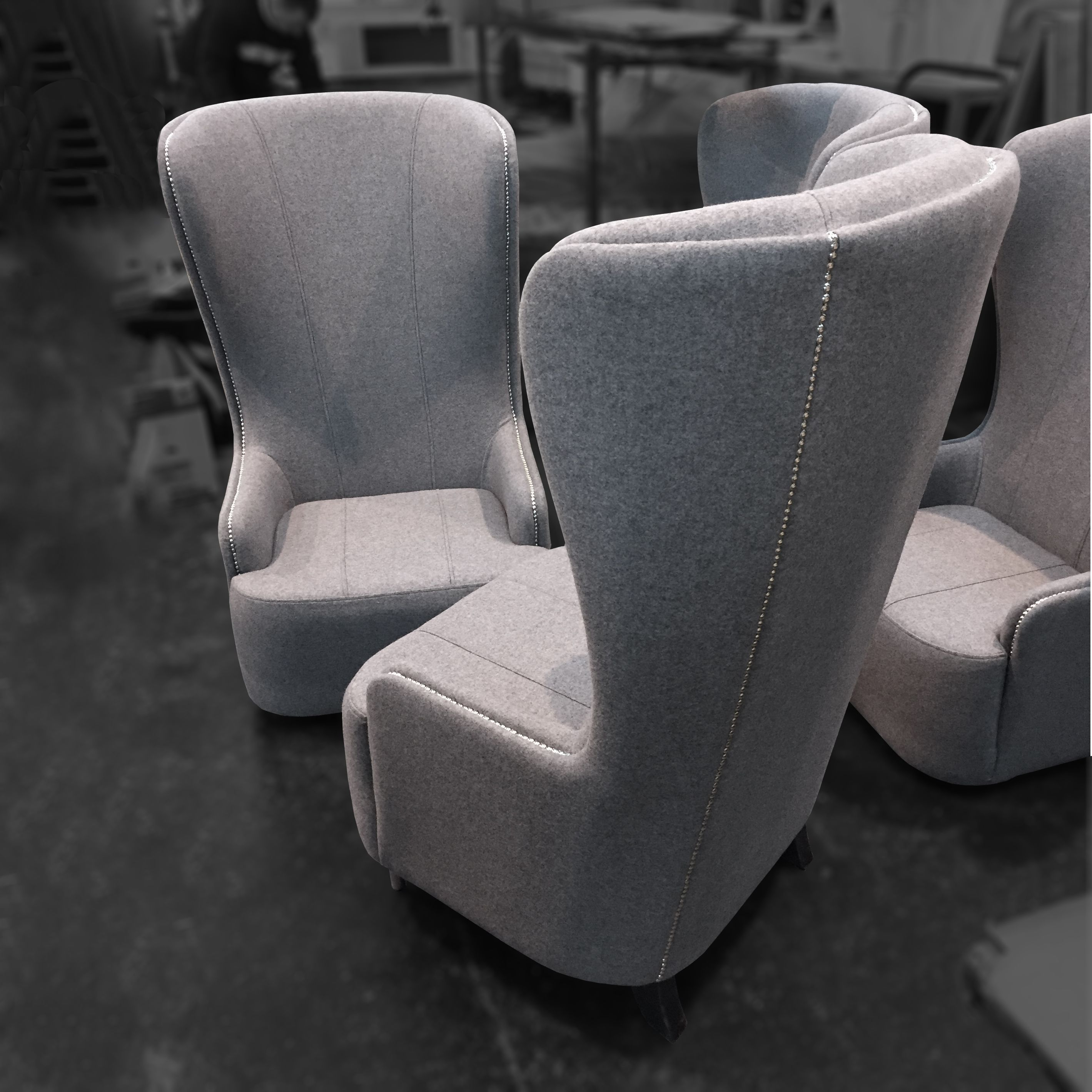 Rory Highback Chairs For Coventry University | Ob&b Customer Orders In Rory Sofa Chairs (View 15 of 25)