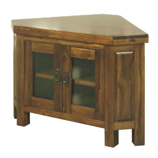 Roscrea Corner Tv Unit – Glass Doors Regarding Most Up To Date Corner Tv Cabinets With Glass Doors (View 21 of 25)
