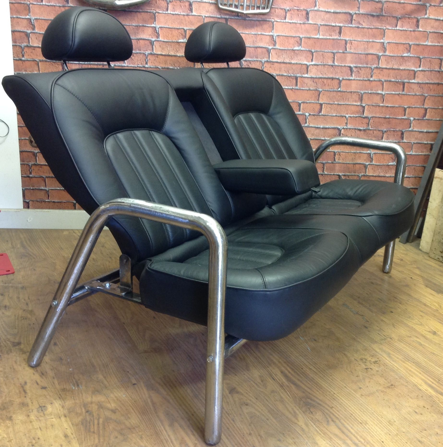 Rover Mofa. Rear Car Seat, Chair, Sofa. Loft Style (Image 19 of 25)