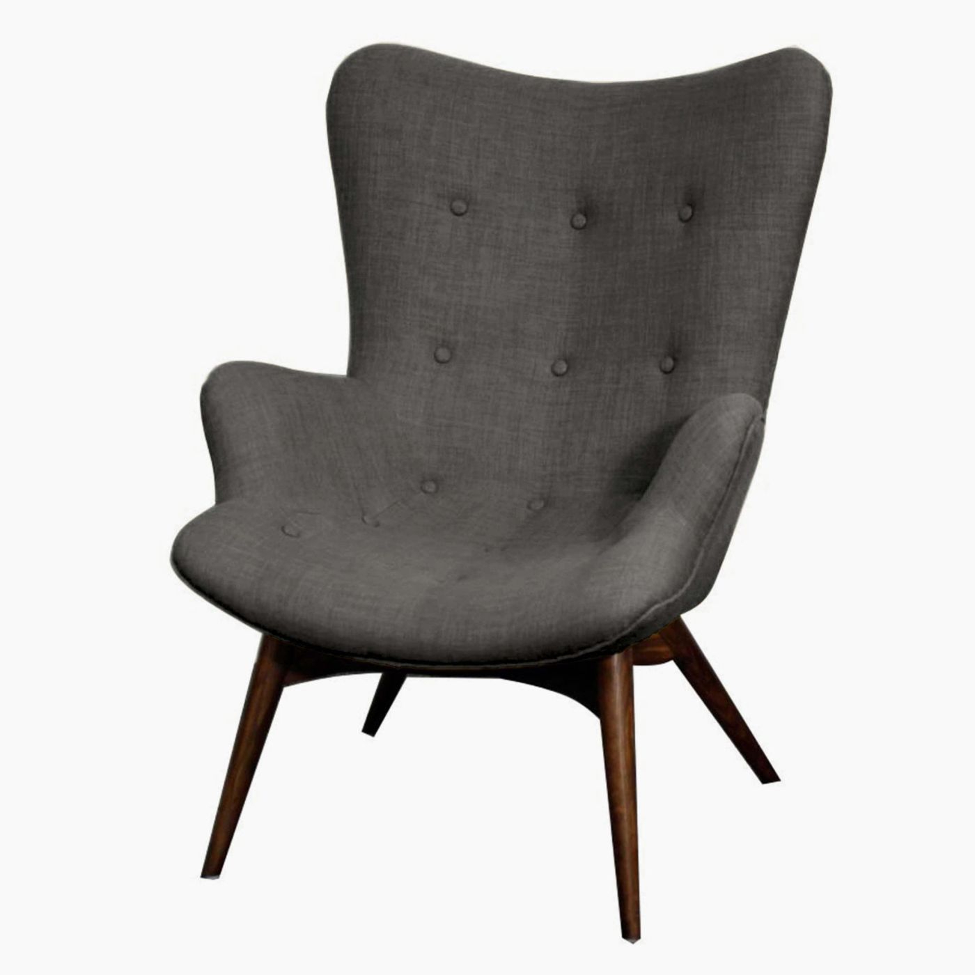 Sadie Arm Chair Dark Walnut Legs, Rock | Products In 2018 With Regard To Sadie Ii Swivel Accent Chairs (View 5 of 25)