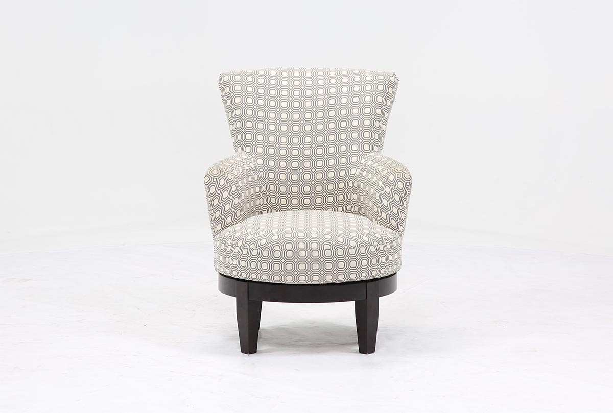 Sadie Swivel Chair | Living Spaces Within Sadie Ii Swivel Accent Chairs (View 2 of 25)