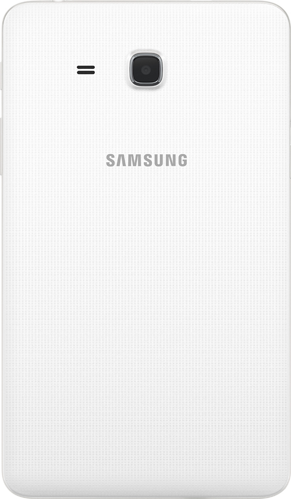 """Samsung Galaxy Tab A 7"""" 8Gb White Sm T280Nzwaxar – Best Buy With 2018 Kilian Black 60 Inch Tv Stands (View 18 of 25)"""