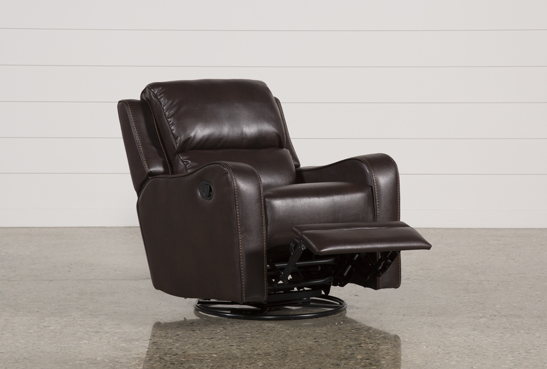 Scorpio Brown Swivel Glider Recliner In 2018 | Products | Pinterest With Regard To Kawai Leather Swivel Chairs (View 7 of 25)