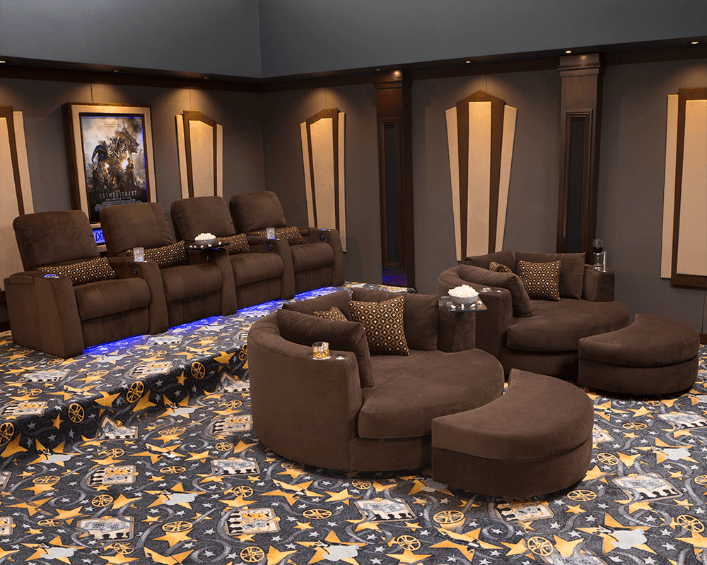 Seatcraft Aspen & Swivel Cuddle Seats Home Theater Collection, Bella Pertaining To Aspen Swivel Chairs (View 16 of 25)