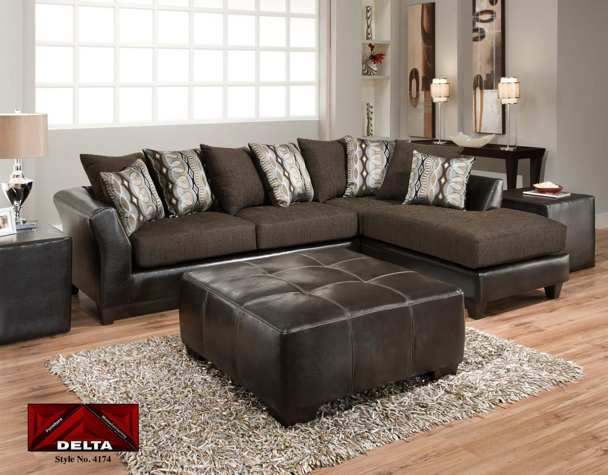 Sectionals : T Mart Furniture, Of Fort Worth, Texas Within Mansfield Graphite Velvet Sofa Chairs (Image 17 of 25)
