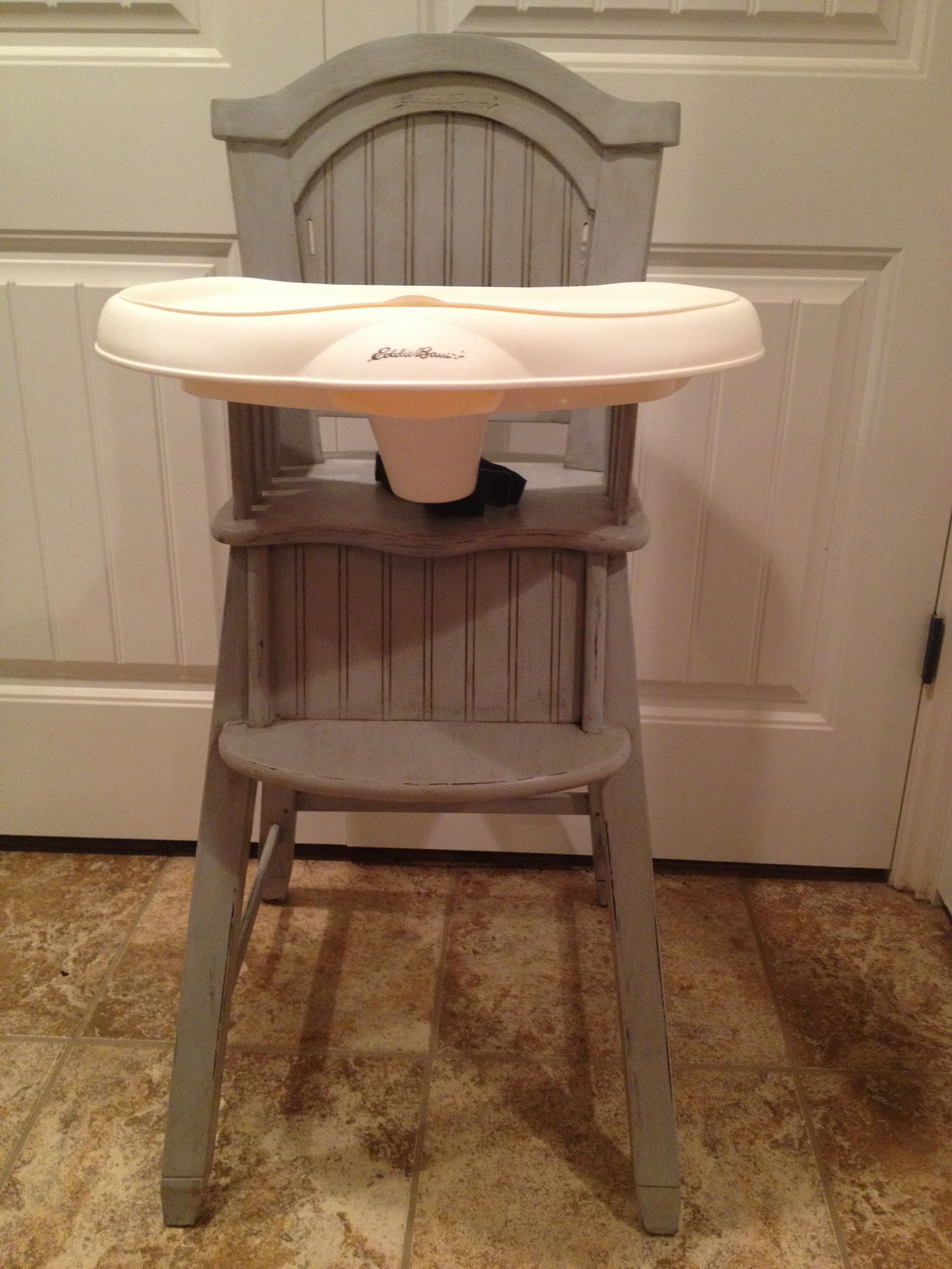 Shabby Chic Eddie Bauer High Chair (View 6 of 25)