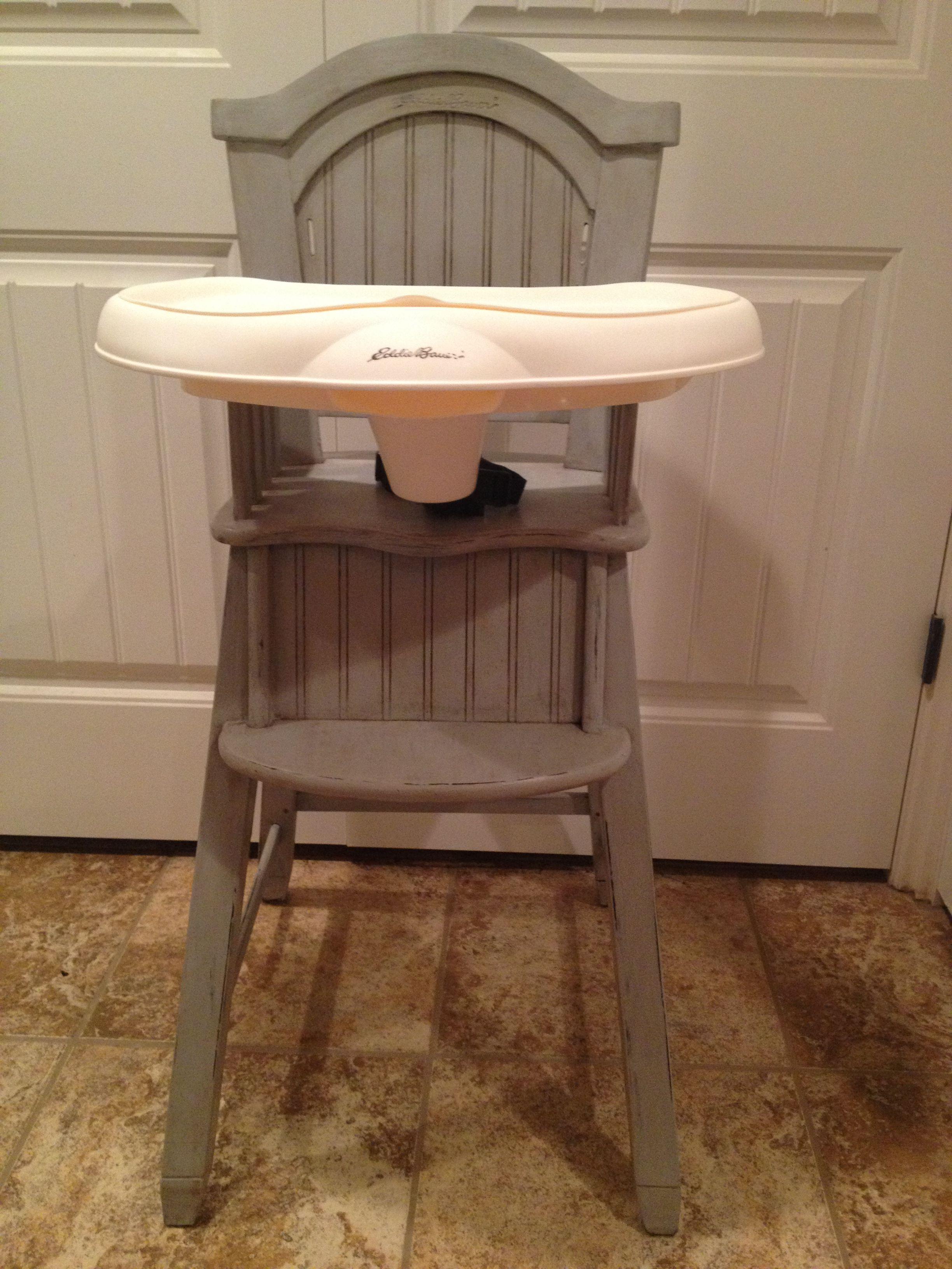 Shabby Chic Eddie Bauer High Chair (Image 23 of 25)
