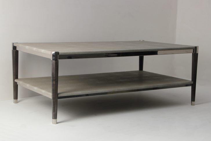 Shagreen Media Console Modern Red Coffee Table Coffee Dining Table Within 2018 Grey Shagreen Media Console Tables (Image 21 of 25)