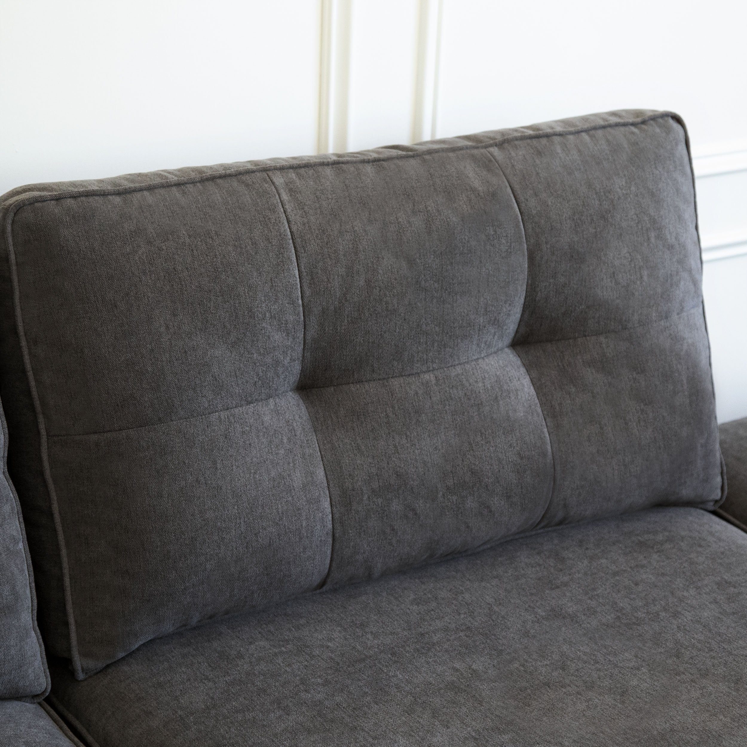 Shop Abbyson Maddox 5 Piece Modular Fabric Sectional – On Sale Intended For Maddox Oversized Sofa Chairs (Image 18 of 25)