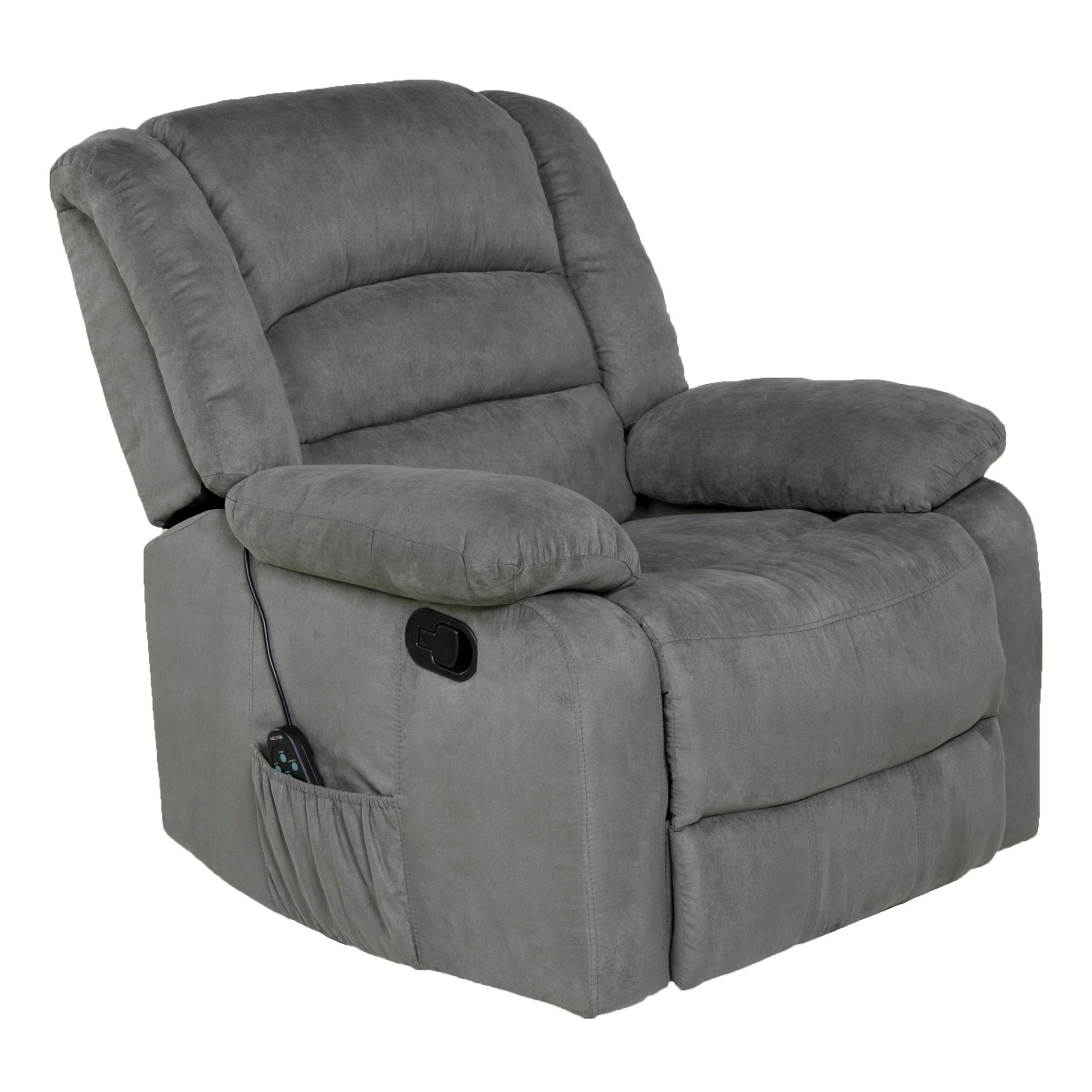 Shop Copper Grove Tynwald Rocker Recliner With Heat, Massage, And Regarding Gannon Linen Power Swivel Recliners (View 15 of 25)
