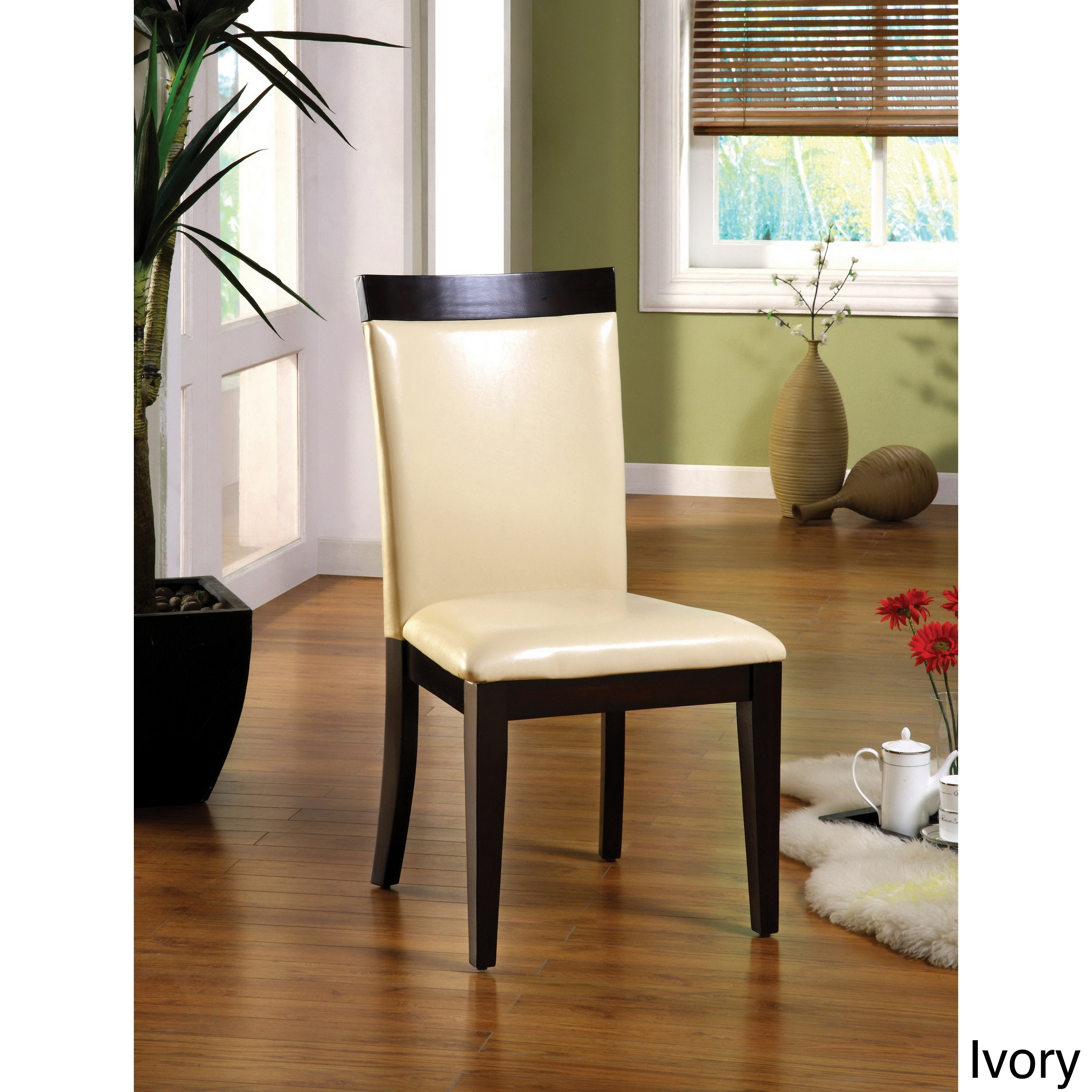 Shop Furniture Of America Brennan Two-Tone Contemporary Dining for Brennan Sofa Chairs