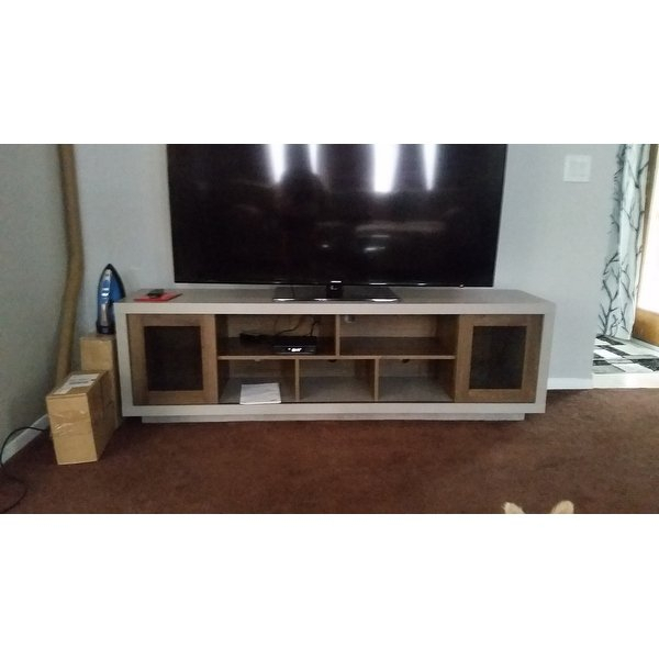 Shop Furniture Of America Selefin Industrial Cement Like Multi With Regard To Most Recent Casey Grey 54 Inch Tv Stands (View 7 of 25)