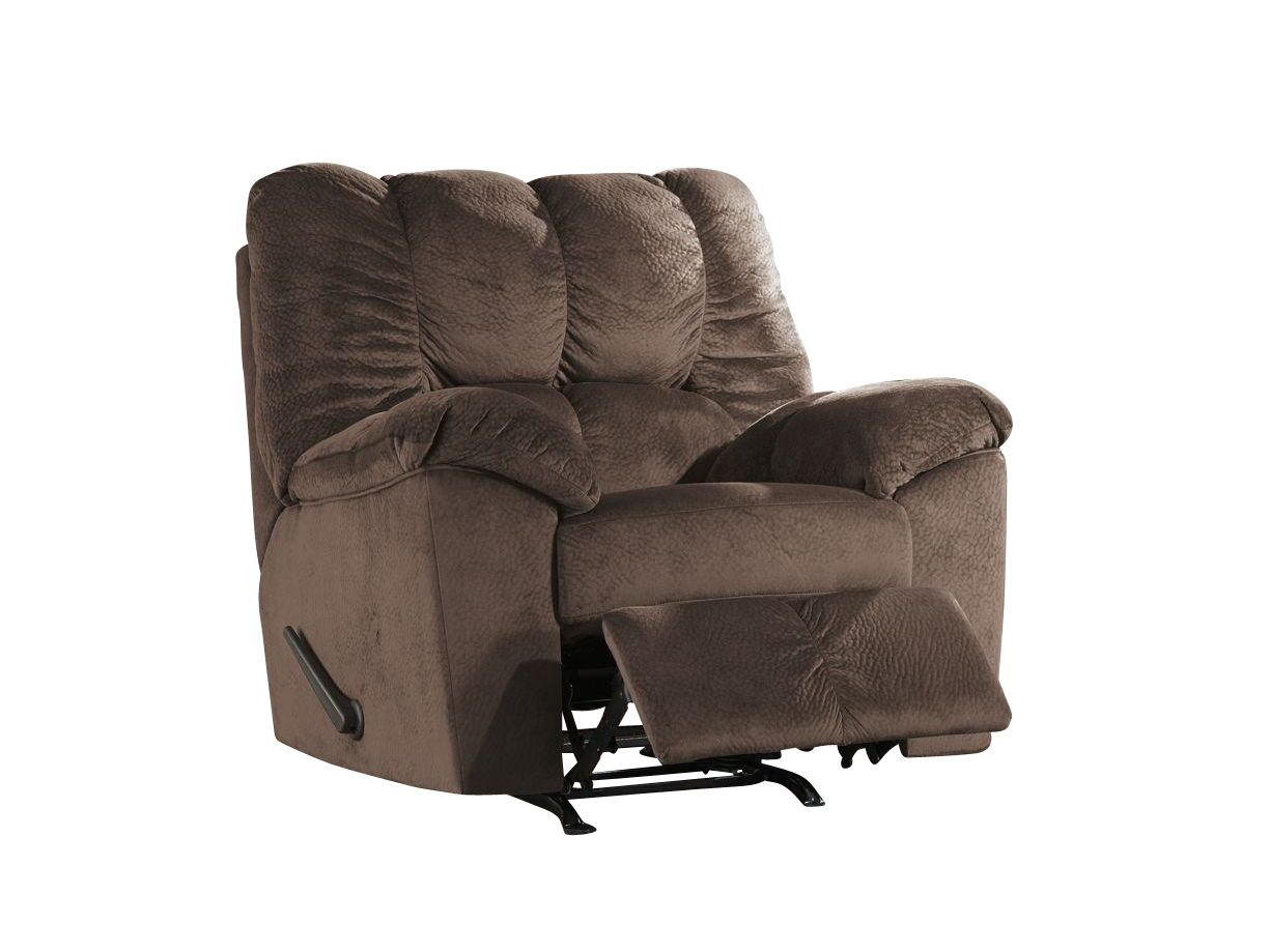 Shop Julson 3 Piece Contemporary Living Room Set In Cafe In Mansfield Graphite Velvet Sofa Chairs (Image 20 of 25)
