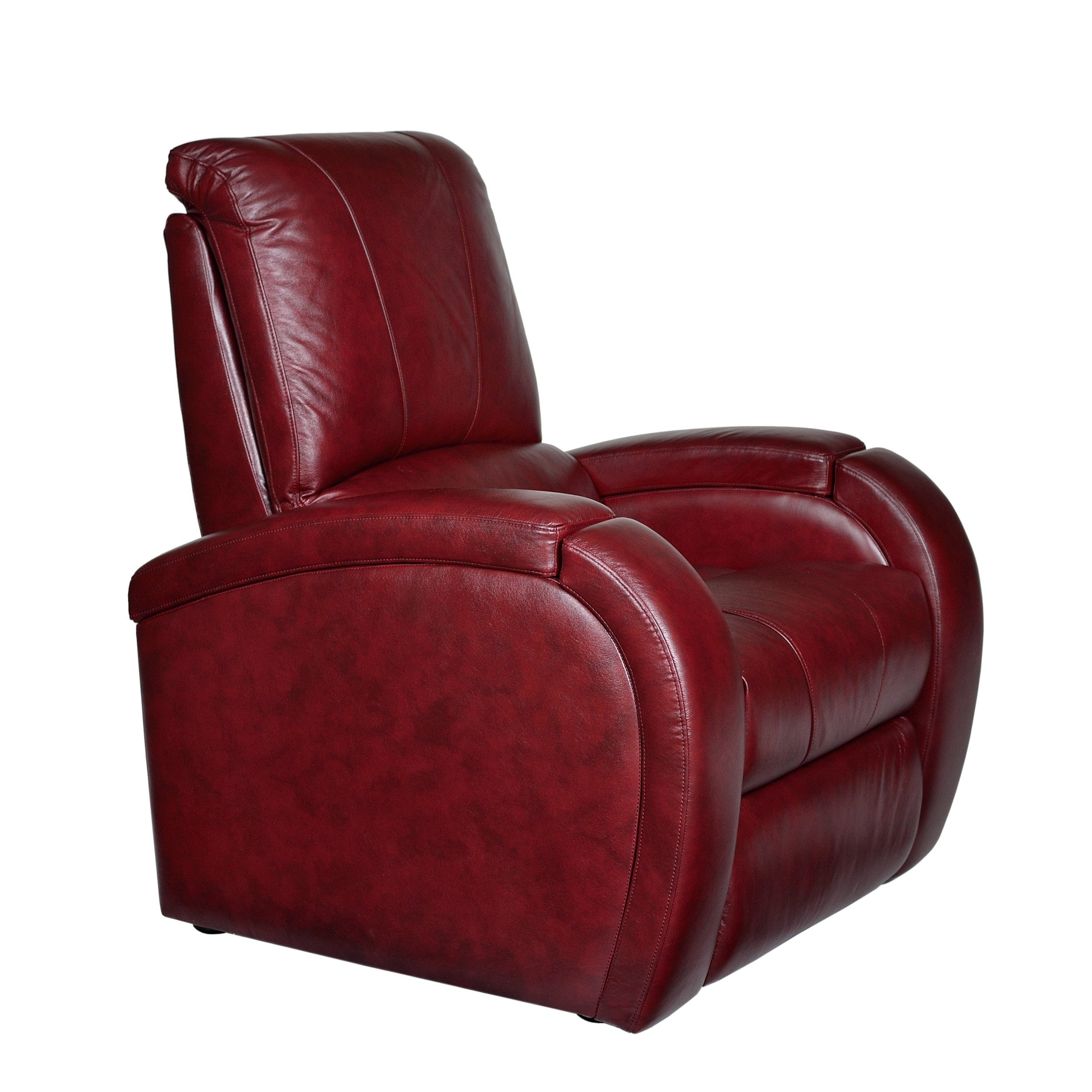 Shop Monte Carlo Leather Power Recliner – Free Shipping Today With Regard To Gannon Linen Power Swivel Recliners (View 25 of 25)