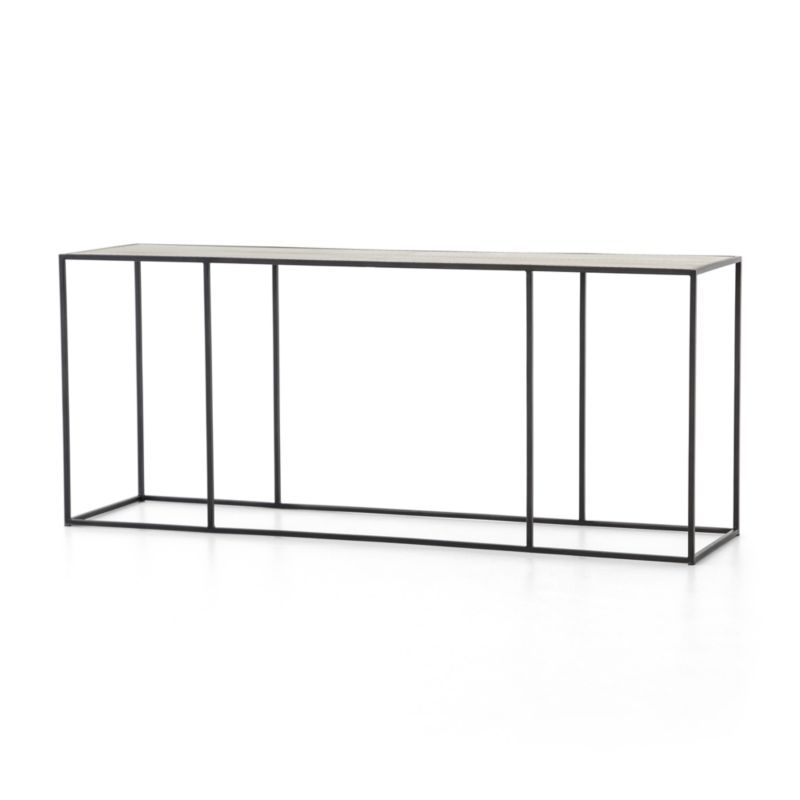Shop Phillip Brass Console Table (View 1 of 25)