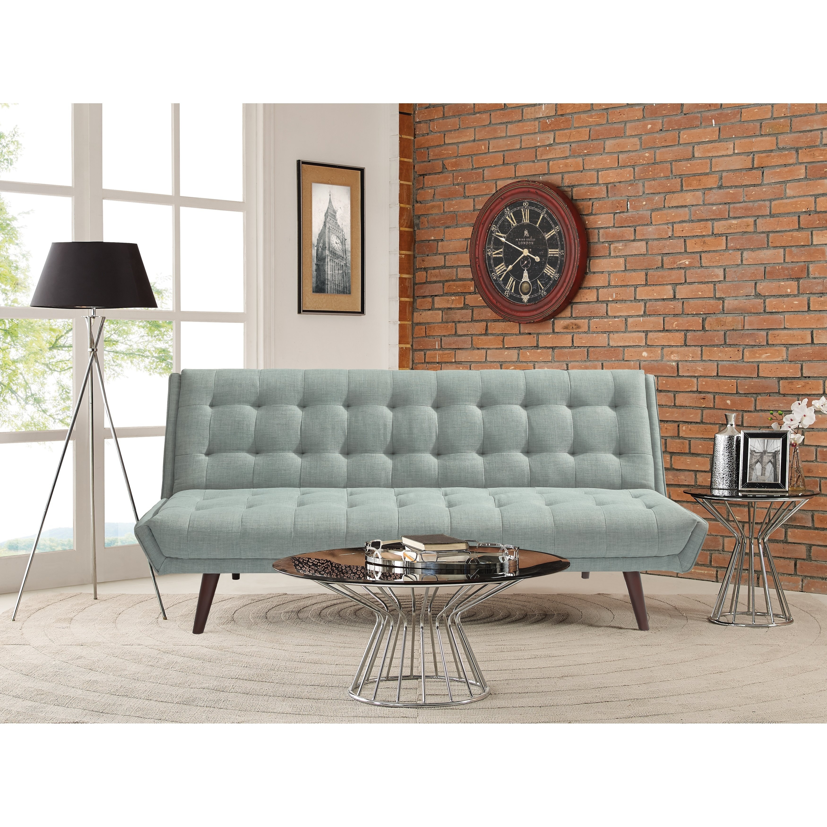 Shop Relax A Lounger Landry Convertible Sofa – Free Shipping Today Regarding Landry Sofa Chairs (Image 25 of 25)