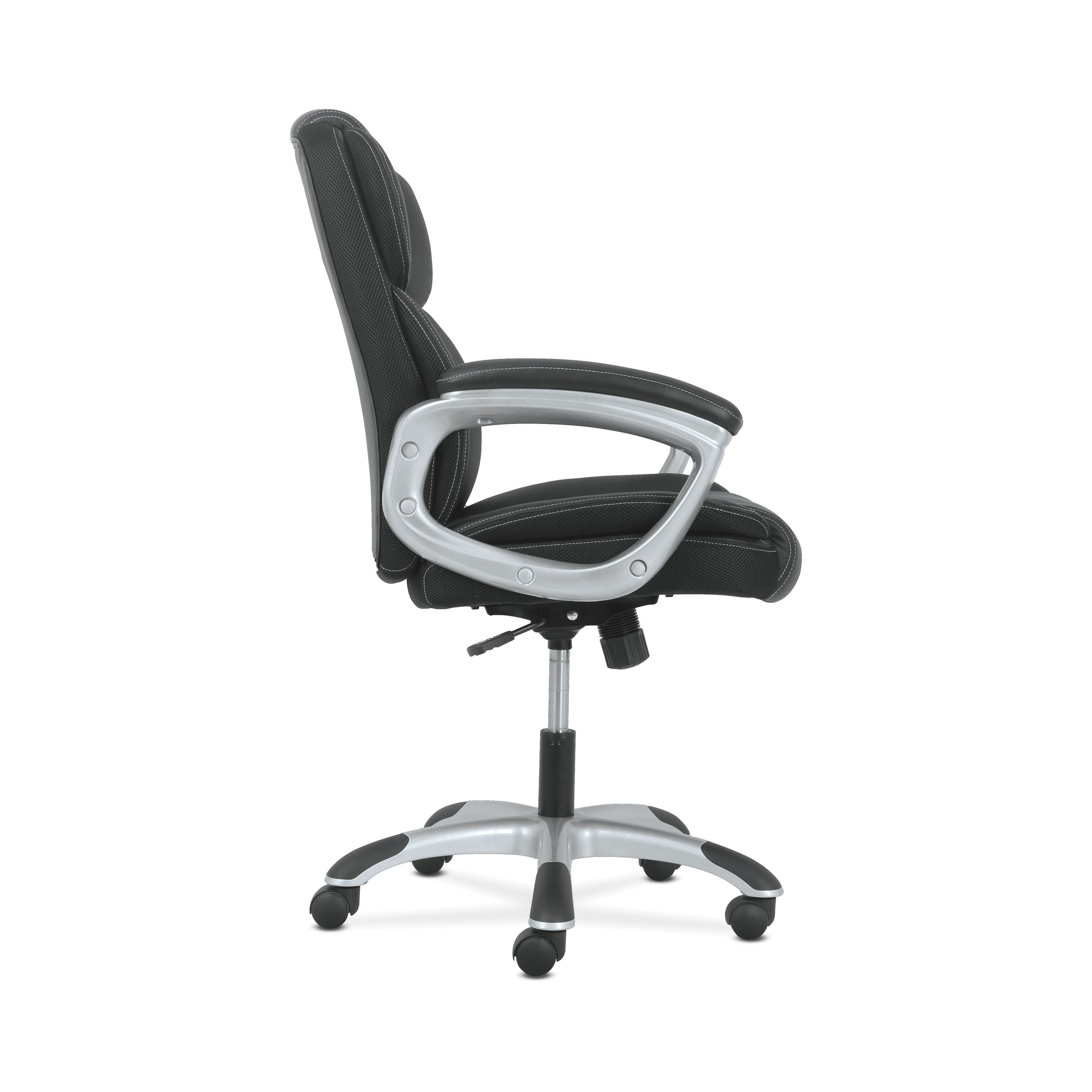 Shop Sadie Leather Executive Computer/office Chair With Arms Inside Sadie Ii Swivel Accent Chairs (View 22 of 25)
