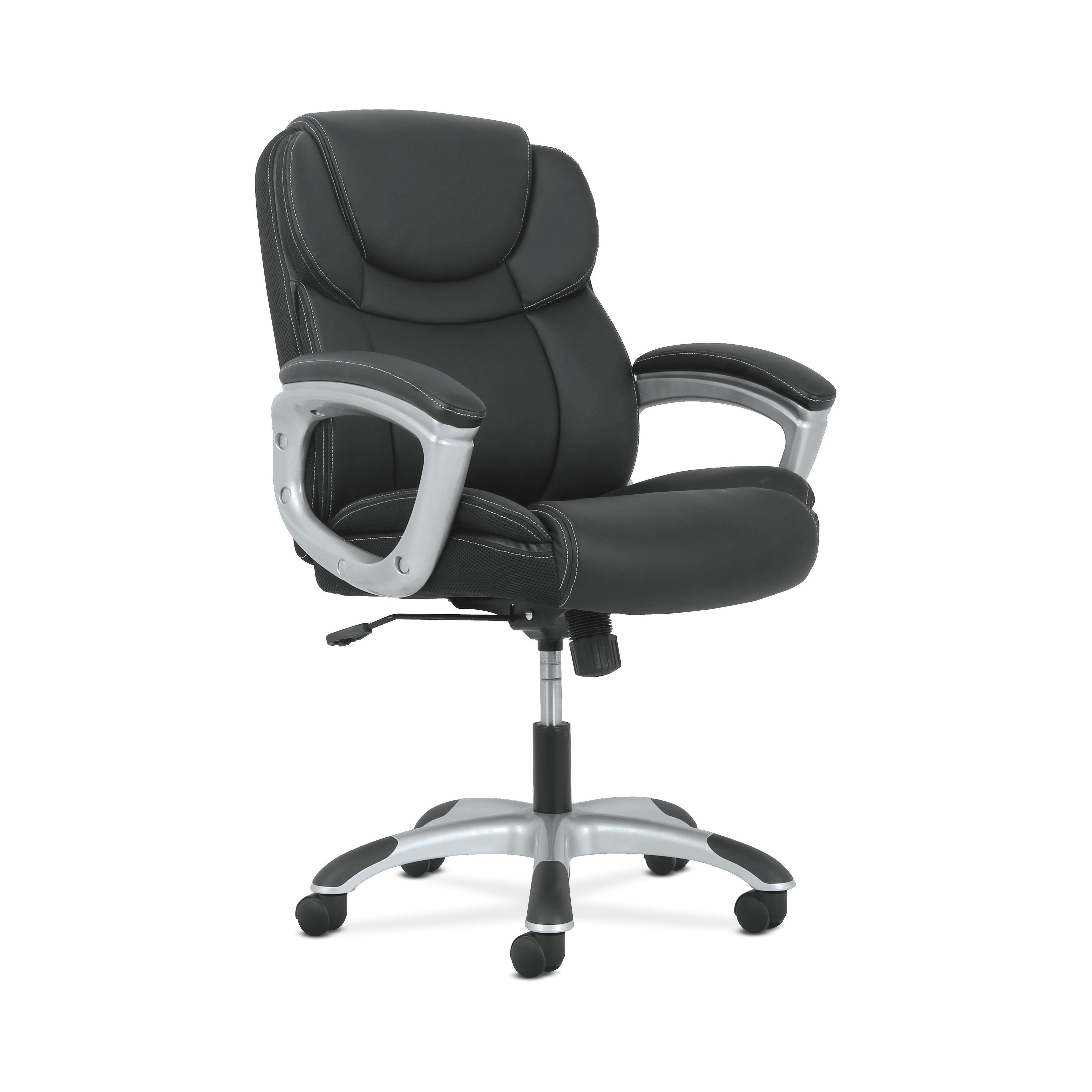 Shop Sadie Leather Executive Computer/office Chair With Arms Pertaining To Sadie Ii Swivel Accent Chairs (View 12 of 25)