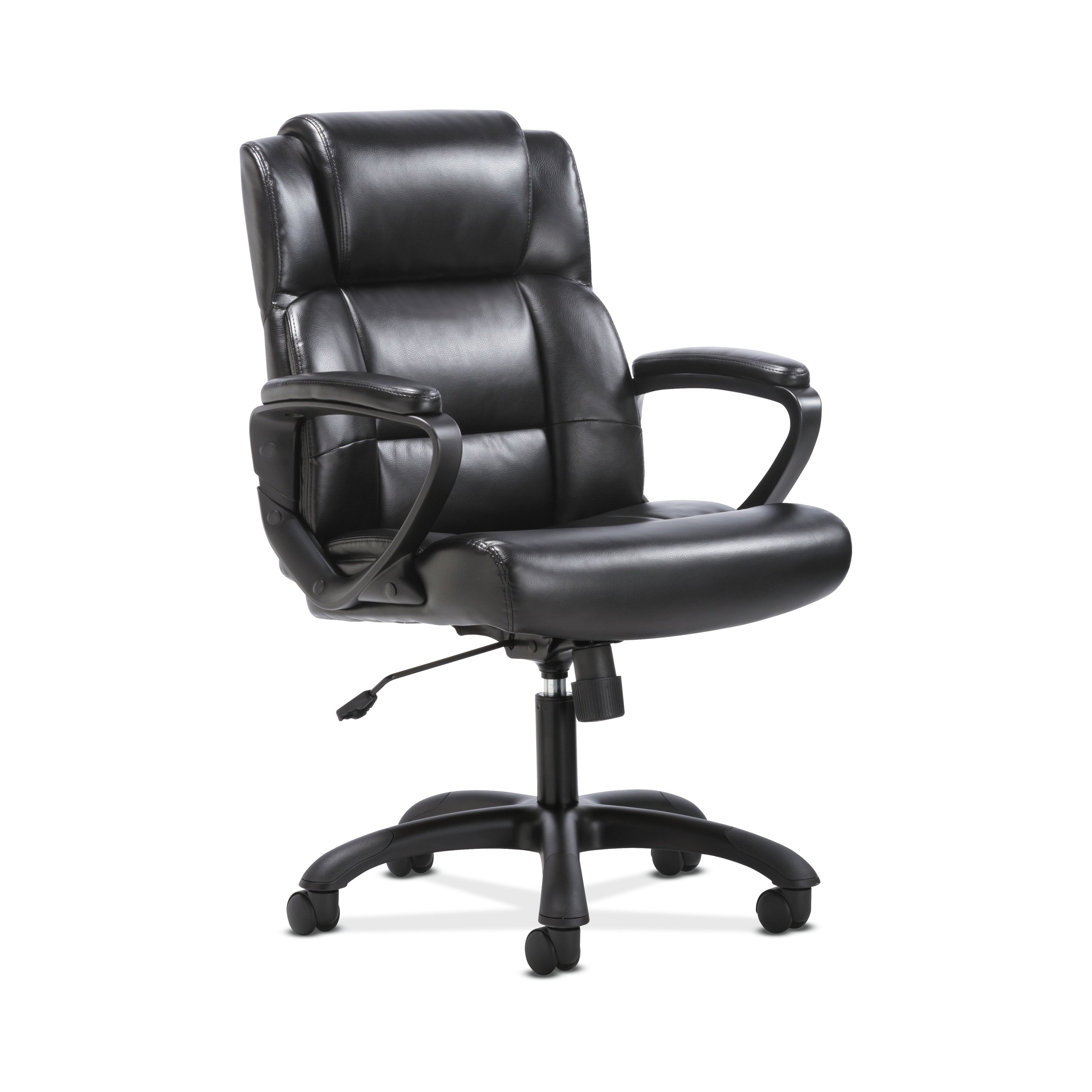 Shop Sadie Leather Executive Computer/office Chair With Arms Regarding Sadie Ii Swivel Accent Chairs (View 13 of 25)