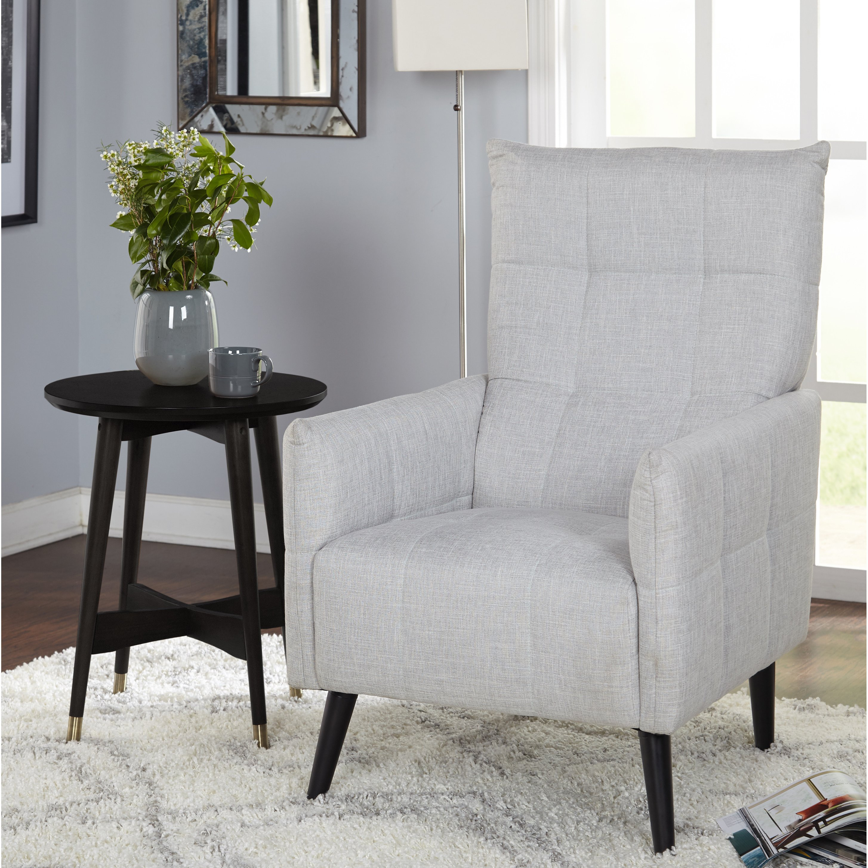 Shop Simple Living Gwen Mid Century Accent Chair – Free Shipping With Gwen Sofa Chairs (View 9 of 25)
