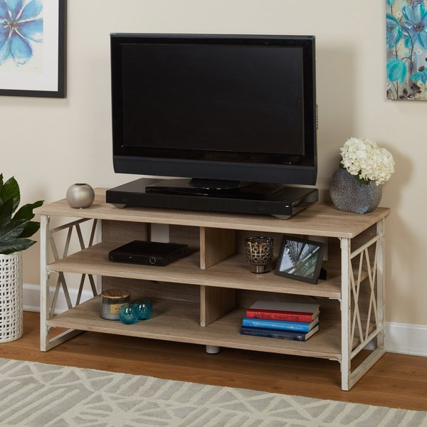 Shop Simple Living Seneca Xx 48 Inch Tv Stand – Free Shipping Today For Famous Oxford 60 Inch Tv Stands (View 17 of 25)